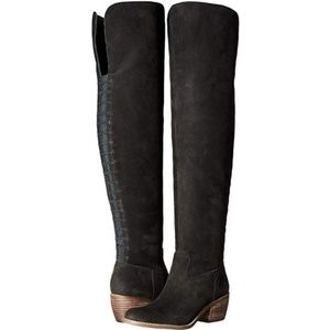Lucky Brand | Black Over The Knee Boots Sz 5.5